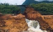 Phú Thọ: Khẩn cấp di dời 17 hộ dân ở hạ lưu vì sự cố vỡ đập Thìn