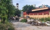 Hà Nội: Bãi đỗ xe tĩnh bị biến tấu thành nơi tập kết rác của Công ty môi trường Hà Đông?