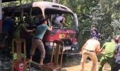 Nghệ An: Cúng rằm tháng 7, cháy cả nhà thờ họ lẫn xe khách
