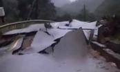 Quảng Bình: Sạt ở núi kinh hoàng, vùi lấp đồn biên phòng và xé toác QL12A