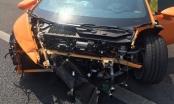 Siêu xe trị giá 13 tỷ gặp nạn trên cao tốc Long Thành