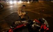 TP HCM: Bị truy đuổi sau khi trộm xe máy, nam thanh niên lao thẳng vào đầu xe container
