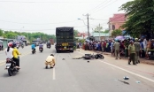Bình Dương: Va chạm giao thông ngã ra đường, hai người đàn ông bị xe container cán chết
