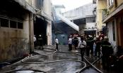 Cháy lớn tại gara ôtô trên đường Trần Hưng Đạo