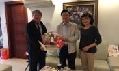 Bộ trưởng Tư pháp Lê Thành Long thăm và chúc Tết các đồng chí nguyên Bộ trưởng