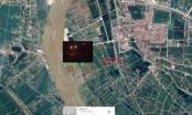 Cận cảnh 'cát tặc' thâu đêm đục khoét ven sông Hồng ở Hưng Yên