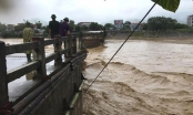 Yên Bái: Lũ trên sông Thao vẫn ở mức báo động 3