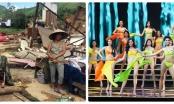 VTV nói gì khi vẫn truyền hình trực tiếp Hoa hậu Hoàn vũ Việt Nam 2017 lúc cả nước đau lòng vì bão lũ?