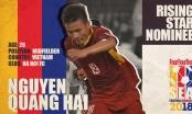 Báo châu Á đề cử Quang Hải là cầu thủ trẻ hay nhất Đông Nam Á