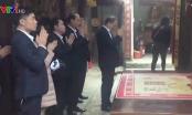 Danh tính lãnh đạo, cán bộ Kho bạc Nhà nước thành phố Nam Định đi lễ trong giờ hành chính