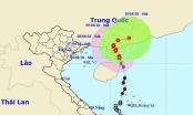 Ảnh hưởng bão số 2, vùng biển Quảng Trị - Quảng Ngãi gió giật mạnh