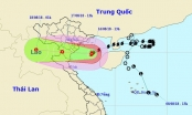 Đêm nay vùng tâm bão ảnh hưởng trực tiếp Quảng Ninh - Nghệ An