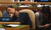 Tấm ảnh ngủ gật tại Liên hợp quốc đã được cắt cúp?