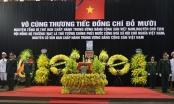 Đang diễn ra Lễ viếng nguyên Tổng Bí thư Đỗ Mười