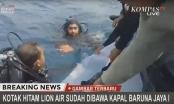 Tìm thấy hộp đen máy bay chở 189 người gặp nạn tại Indonesia