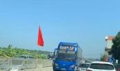 Xe khách Doanh Lý đi ngược chiều trên quốc lộ 1A, coi thường tính mạng người dân