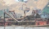 Núp bóng dự án nạo vét, 'cát tặc' thoải mái 'rút ruột' sông Hồng