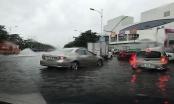 Hà Nội mưa lớn, khắp ngả đường bắt đầu ngập, cây đổ chắn phố