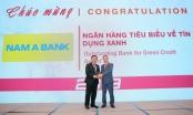 Nam A Bank nhận giải thưởng Ngân hàng tiêu biểu về tín dụng xanh năm 2019
