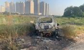 Điều tra nghi án giết người cướp tài sản, đốt ô tô phi tang ở gần cầu Thủ Thiêm