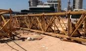 6 người thương vong trong vụ sập tháp cần cẩu tại nhà xưởng của Công ty TNHH Polytex Far Eastern