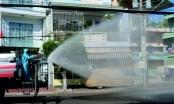 TP Phan Thiết phun 1 tấn hóa chất khử trùng diện rộng