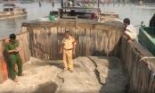Phát hiện nhóm cát tặc ngang nhiên rút ruột sông Đồng Nai