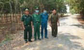 Tây Ninh: Đồn Biên phòng Tân Hà cùng dân chống dịch bệnh Covid -19