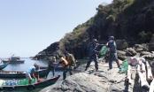 Bộ tư lệnh Vùng Cảnh sát biển 4 cùng ngư dân miền Tây chống hạn mặn