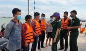 Đồn Biên phòng Bến Đá kịp thời cứu nạn 5 thuyền viên trên biển Vũng Tàu