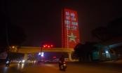 Hà Nội: Nhà cao tầng thắp sáng thông điệp cổ vũ chống dịch Covid-19