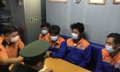 Cứu hộ thành công 4 thuyền viên bị nạn trên biển