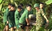 Hải Phòng: Nông dân phát hiện quả bom nặng 250 kg dưới ao cá