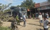 Bình Phước: Người dân ngăn xe từ mỏ đá của Công ty Hùng Vương vì lo hỏng đường