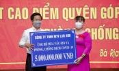 Công ty TNHH MTV Lan Anh ủng hộ 10 tỷ đồng mua vắc xin, phòng, chống dịch COVID-19