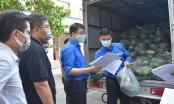 Đoàn thanh niên Bộ Tư pháp chung tay hỗ trợ tiêu thụ hơn 3 tấn dưa hấu cho nông dân Bắc Giang