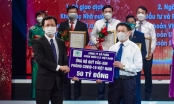 C.P. Việt Nam trao tặng 50 tỷ đồng tới Quỹ Vắc-xin phòng, chống Covid-19
