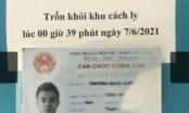 Tây Ninh khẩn trương truy tìm nam thanh niên trốn khỏi khu cách ly K71