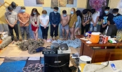 Bay lắc tại nhà trọ, 22 đối tượng đã bị bắt giữ