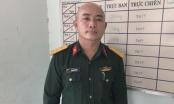 Đối tượng giả mạo sĩ quan quân đội để thông chốt