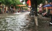 Hà Nam: TP Phủ Lý lại ngập nước sau cơn mưa lớn