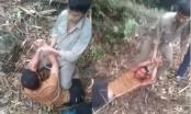 Video Clip: Người đàn ông bị đánh đập dã man rồi trói tay lôi đi