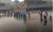 Hò reo bắt cá trong Nhà máy giấy Xương Giang: Sẽ xử lý nghiêm nếu có vi phạm!