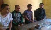 Hà Tĩnh: Bắt giữ 4 lái xe công ty vận tải trên chiếu bạc
