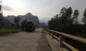 Quảng Bình: Quốc lộ 12A kêu cứu vì... xe quá tải