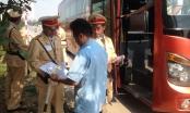 Quảng Bình: Xử lý hơn 100 xe khách vi phạm luật giao thông