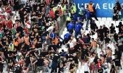CĐV Hungary hung hăng làm loạn, đấm chảy máu mồm cảnh sát Pháp