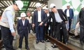 Phó Thủ tướng Trịnh Đình Dũng làm việc về tiến độ hai tuyến đường sắt đô thị tại Hà Nội