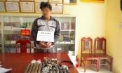 Thanh Hóa: Tàng trữ gần 100 quả mìn tự chế, kíp nổ trên tàu cá