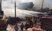 Thanh Hóa: Cháy dữ dội siêu thị đồ gia dụng tại Khu kinh tế Nghi Sơn